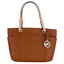 Buy MICHAEL Michael Kors Jet Set Tote Luggage Handbag Online at johnlewis.com