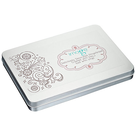 Buy Image on Food Love Gingerbread Biscuit Tin, 150g Online at johnlewis.com
