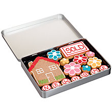 Buy Image on Food New Home Gingerbread Biscuit Tin, 150g Online at johnlewis.com