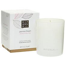 Buy Rituals Jasmine Dream Candle, 290g Online at johnlewis.com