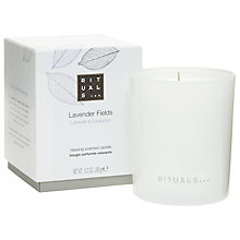 Buy Ritual Lavender Fields Candle, 290g Online at johnlewis.com