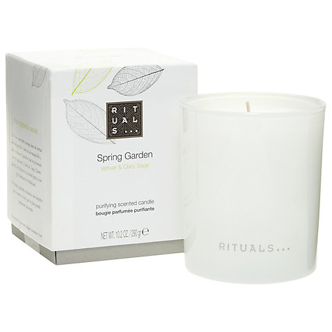 Buy Rituals Spring Garden Candle, 290g Online at johnlewis.com