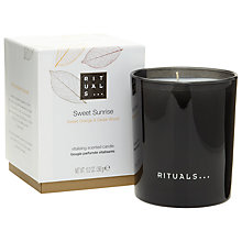 Buy Rituals Sweet Sunrise Candle, 290g Online at johnlewis.com