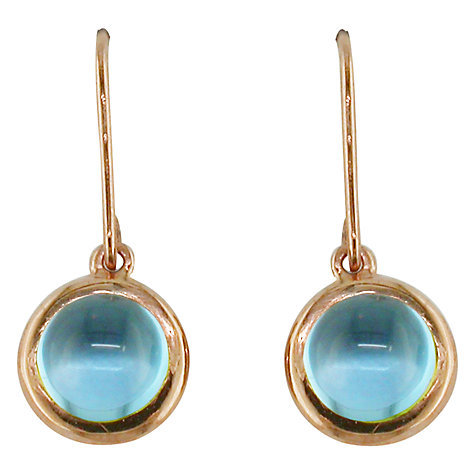 Buy London Road Pimlico Bubble 9ct Rose Gold Drop Earrings Online at johnlewis.com