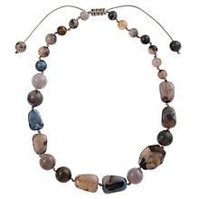 Buy Lola Rose Liberty Rose Nugget and Tumble Bead Agate Necklace, Multi Online at johnlewis.com