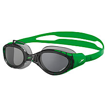 Buy Speedo Futura Biofuse Polar Swimming Goggles, Green/Smoke Online at johnlewis.com
