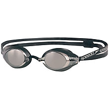 Buy Speedo Speedsocket Mirror Swimming Goggles, Black Online at johnlewis.com