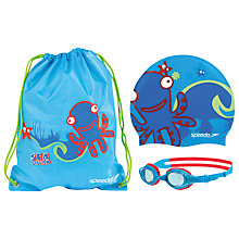 Buy Speedo Sea Squad Swimming Set Bag, Assorted Online at johnlewis.com