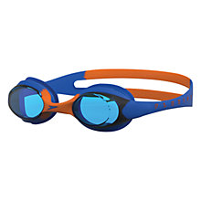 Buy Speedo Skoogle Flexifit Junior Swimming Goggles, Blue/Orange Online at johnlewis.com