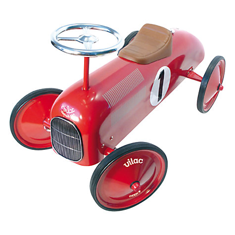 Buy Vilac Speedstar Racer, Red Online at johnlewis.com