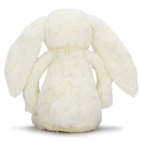 Buy Jellycat Bashful Blossom Bunny Soft Toy, Small, Cream Online at johnlewis.com
