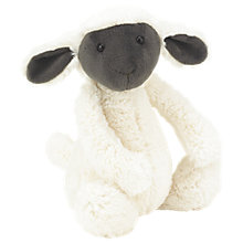 Buy Jellycat Bashful Greyface Lamb, Small Online at johnlewis.com