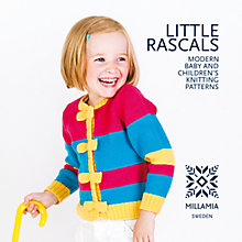 Buy Millamia Little Rascals: Modern Baby and Children's Knitting Pattern Book Online at johnlewis.com