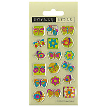 Buy Butterfly Bubble Stickers Online at johnlewis.com