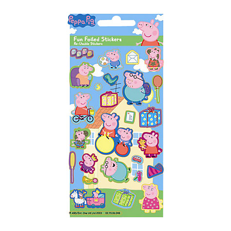 Buy Peppa Pig Stickers Online at johnlewis.com