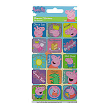 Buy Peppa Pig Reward Stickers Online at johnlewis.com