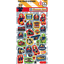 Buy Fireman Sam Stickers Online at johnlewis.com