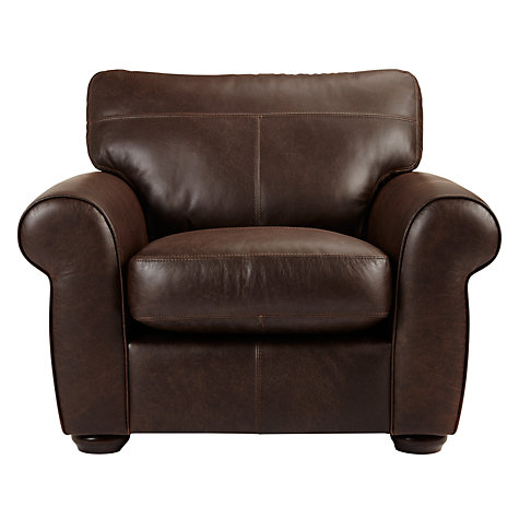 Buy John Lewis Madison Leather Armchair, Colorado Online at johnlewis.com