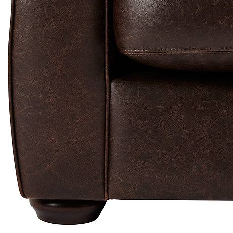 Buy John Lewis Madison Semi-Aniline Leather Armchair, Colorado Brazil Online at johnlewis.com