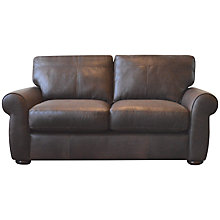 Buy John Lewis Madison Small Cushion Back Leather Sofa Online at johnlewis.com