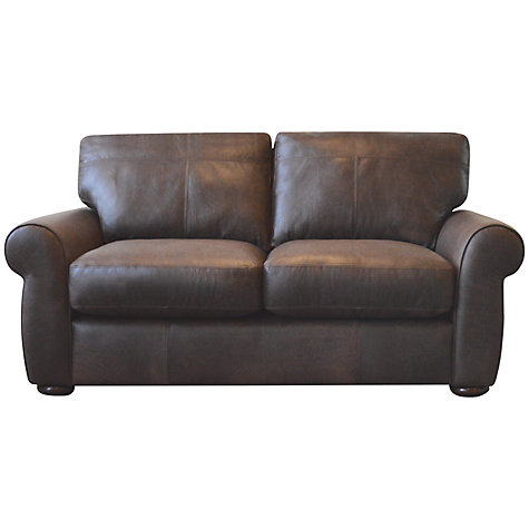 Buy John Lewis Madison Small Leather Sofa, Colorado Online at johnlewis.com