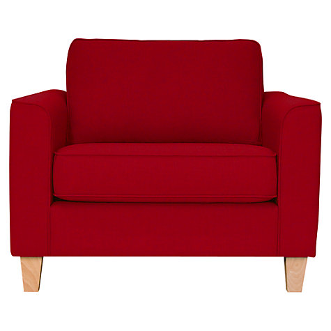 Buy John Lewis Portia Snuggler, Fraser Crimson Red Online at johnlewis.com