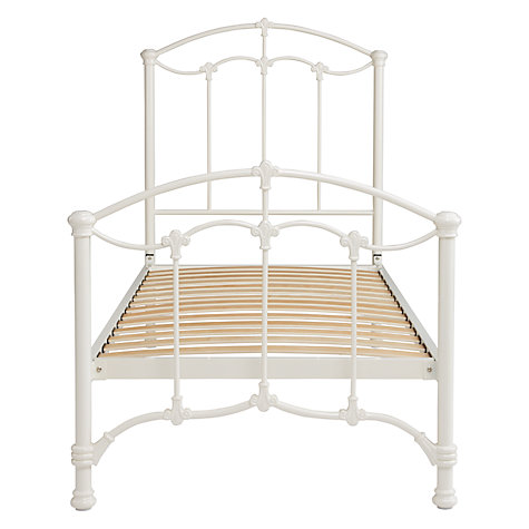 Buy John Lewis Daisy Bedstead, Cream, Single Online at johnlewis.com