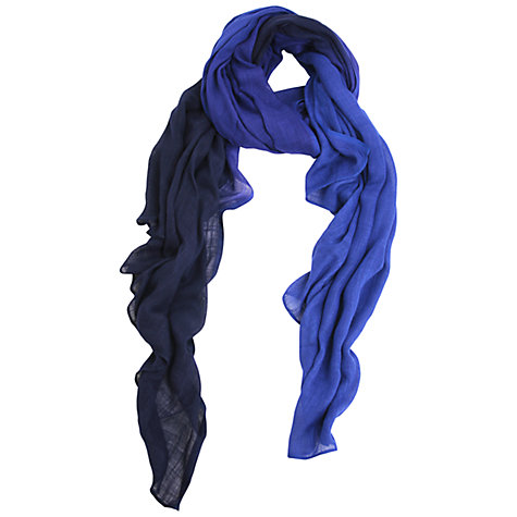 Buy Kaliko Ombre Scarf, Blue/Multi Online at johnlewis.com