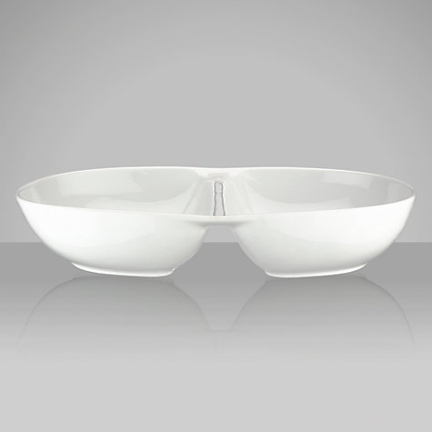 Buy House by John Lewis Oval Divided Dish Online at johnlewis.com
