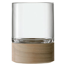 Buy LSA Lotta Column Vase / Lantern, H18cm Online at johnlewis.com