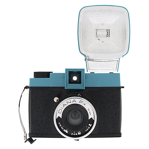 Buy Lomography Diana F+ Classic Analogue Camera with Flash Online at johnlewis.com