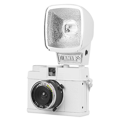 Buy Lomography Diana Mini Analogue Camera with Flash Online at johnlewis.com