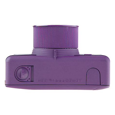 Buy Lomography Fisheye 1 Analogue Camera, Purple Online at johnlewis.com
