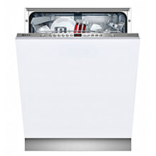 Buy Neff S51M63X2GB Integrated Dishwasher Online at johnlewis.com