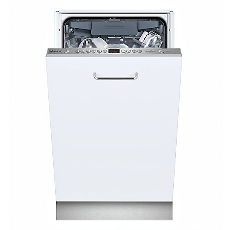 Buy Neff S58T69X0GB Slimline Integrated Dishwasher Online at johnlewis.com