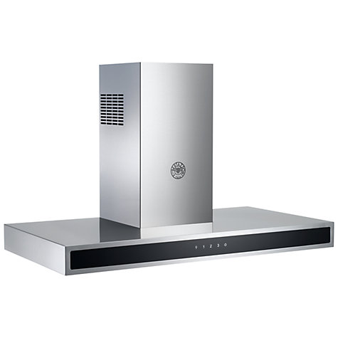Buy Bertazzoni KG90CONX Chimney Cooker Hood, Stainless Steel Online at johnlewis.com
