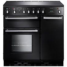 Buy Rangemaster Toledo 90 Induction Hob Range Cooker, Gloss Black Online at johnlewis.com