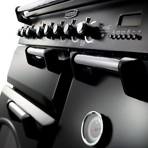 Buy Rangemaster Classic Deluxe 90 Electric Range Cooker, Black Online at johnlewis.com