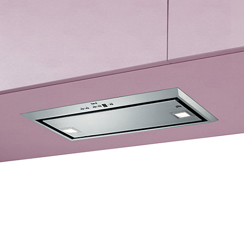 Buy best Visso Large Built-In Cooker Hood, Stainless Steel Online at johnlewis.com