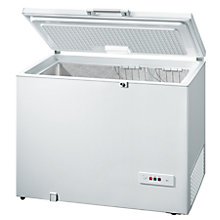 Buy Bosch GCM28AW20G Chest Freezer, A+ Energy Rating, 118cm Wide, White Online at johnlewis.com