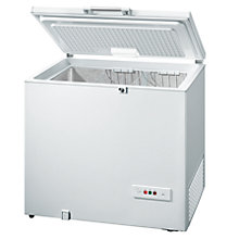 Buy Bosch GCM24AW20G Chest Freezer, A+ Energy Rating, 101cm Wide, White Online at johnlewis.com