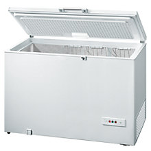 Buy Bosch GCM34AW20G Chest Freezer, A+ Energy Rating, 140cm Wide, White Online at johnlewis.com