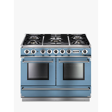 Buy Falcon 1092 Continental Dual Fuel Range Cooker, China Blue Online at johnlewis.com