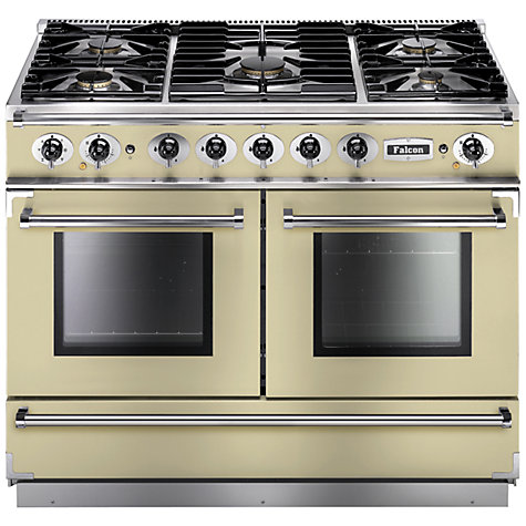 Buy Falcon 1092 Continental Dual Fuel Range Cooker, Ivory Online at johnlewis.com