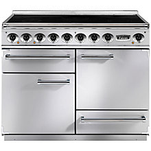 Buy Falcon 1092 Deluxe Induction Hob Range Cooker, Stainless Steel Online at johnlewis.com