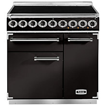 Buy Falcon 900 Deluxe Induction Hob Range Cooker, Black Online at johnlewis.com