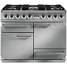 Buy Falcon 1092 Deluxe Dual Fuel Range Cooker, Stainless Steel Online at johnlewis.com