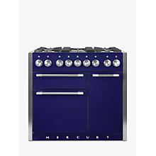 Buy Mercury MCY1000DFBB Dual Fuel Range Cooker, Blue Online at johnlewis.com