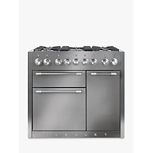 Buy Mercury MCY1000DFSS Dual Fuel Range Cooker, Stainless Steel Online at johnlewis.com