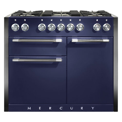 Buy Mercury MCY1082DFBB Dual Fuel Range Cooker, Blue Online at johnlewis.com